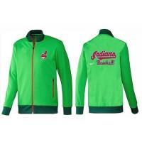 Baseball Cleveland Indians Zip Jacket Green_1