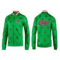 Baseball Cleveland Indians Zip Jacket Green_2