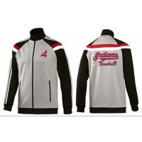Baseball Cleveland Indians Zip Jacket Grey