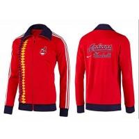 Baseball Cleveland Indians Zip Jacket Orange_1