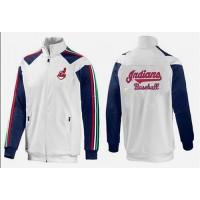 Baseball Cleveland Indians Zip Jacket White_1
