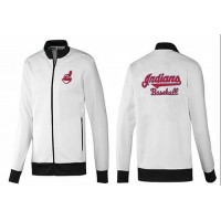Baseball Cleveland Indians Zip Jacket White_2