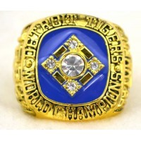 Baseball Detroit Tigers World Champions Gold Ring