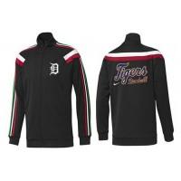 Baseball Detroit Tigers Zip Jacket Black_1