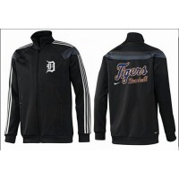Baseball Detroit Tigers Zip Jacket Black_2