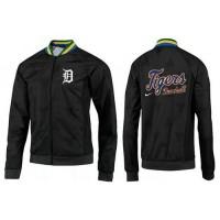 Baseball Detroit Tigers Zip Jacket Black_3