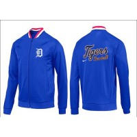 Baseball Detroit Tigers Zip Jacket Blue_1