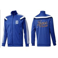 Baseball Detroit Tigers Zip Jacket Blue_3