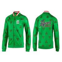 Baseball Detroit Tigers Zip Jacket Green