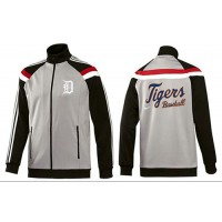 Baseball Detroit Tigers Zip Jacket Grey
