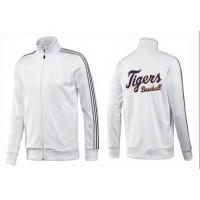 Baseball Detroit Tigers Zip Jacket White_2