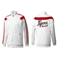 Baseball Detroit Tigers Zip Jacket White_3
