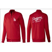 Baseball Los Angeles Dodgers Zip Jacket Red