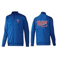 Baseball Minnesota Twins Zip Jacket Blue_1