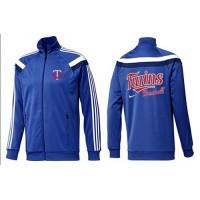 Baseball Minnesota Twins Zip Jacket Blue_3