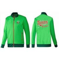Baseball Minnesota Twins Zip Jacket Green