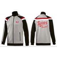 Baseball Minnesota Twins Zip Jacket Grey