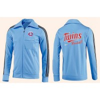Baseball Minnesota Twins Zip Jacket Light Blue