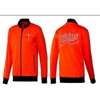 Baseball Minnesota Twins Zip Jacket Orange