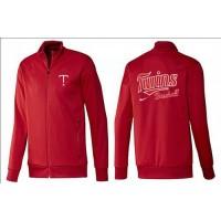 Baseball Minnesota Twins Zip Jacket Red