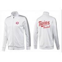 Baseball Minnesota Twins Zip Jacket White_1