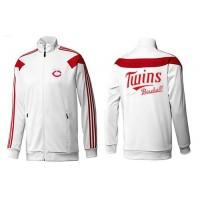 Baseball Minnesota Twins Zip Jacket White_2
