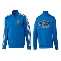 Baseball New York Mets Zip Jacket Blue_1