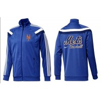 Baseball New York Mets Zip Jacket Blue_2
