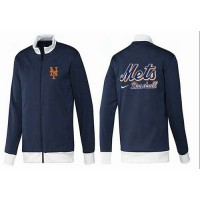 Baseball New York Mets Zip Jacket Dark Blue