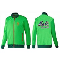 Baseball New York Mets Zip Jacket Green