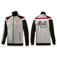 Baseball New York Mets Zip Jacket Grey