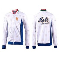 Baseball New York Mets Zip Jacket White_3