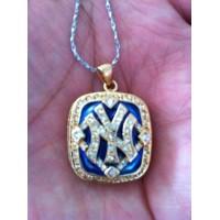 Baseball New York Yankees World Champions Pendant
