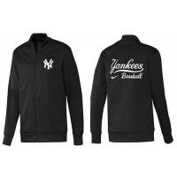 Baseball New York Yankees Zip Jacket Black_1