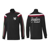 Baseball New York Yankees Zip Jacket Black_2