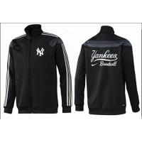 Baseball New York Yankees Zip Jacket Black_3