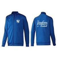 Baseball New York Yankees Zip Jacket Blue_1