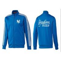 Baseball New York Yankees Zip Jacket Blue_2