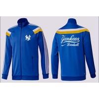 Baseball New York Yankees Zip Jacket Blue_3