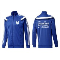 Baseball New York Yankees Zip Jacket Blue_4