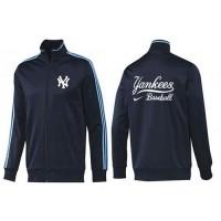 Baseball New York Yankees Zip Jacket Dark Blue