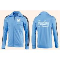 Baseball New York Yankees Zip Jacket Light Blue