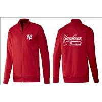 Baseball New York Yankees Zip Jacket Red