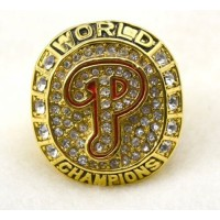 Baseball Philadelphia Phillies World Champions Gold Ring