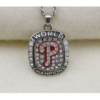 Baseball Philadelphia Phillies World Champions Pendant