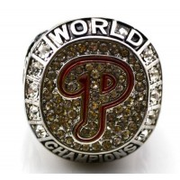 Baseball Philadelphia Phillies World Champions Silver Ring