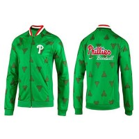 Baseball Philadelphia Phillies Zip Jacket Green_1