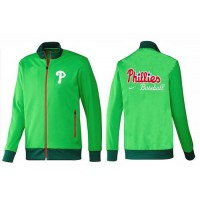 Baseball Philadelphia Phillies Zip Jacket Green_2