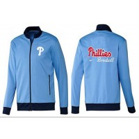 Baseball Philadelphia Phillies Zip Jacket Light Blue