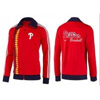 Baseball Philadelphia Phillies Zip Jacket Orange